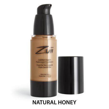 Жидкая тональная основа Natural Honey Zuii Organic,30 мл