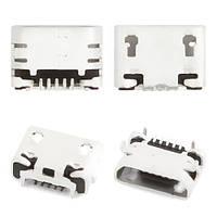 Порт зарядки и синхронизации Fly IQ4514 Quad EVO Tech 4, 5 pin (micro-USB-B), Порт зарядки і синхронізації Fly IQ4514 Quad EVO Tech 4, 5 pin