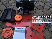 Bosch GTR 52  5 ножей + 2 катушки Бензокоса Мотокоса, кусторез, триммер