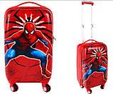 Детская дорожный чемодан SPIDERMAN  55х36х27 см, фото 7