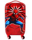 Детская дорожный чемодан SPIDERMAN  55х36х27 см, фото 6
