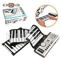 Синтезатор, гибкая пианино MIDI клавиатура, 61 клавиша