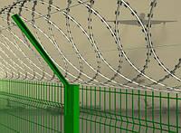 Колючая проволока Плоский барьер Безопасности d-450мм