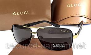 Солнцезащитные очки  Gucci (5015) gold
