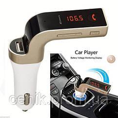 Автомобильный FM модулятор MOD Car G7 Bluetooth, золото