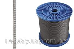 Трос стальной (6х7) 2мм DIN 3055