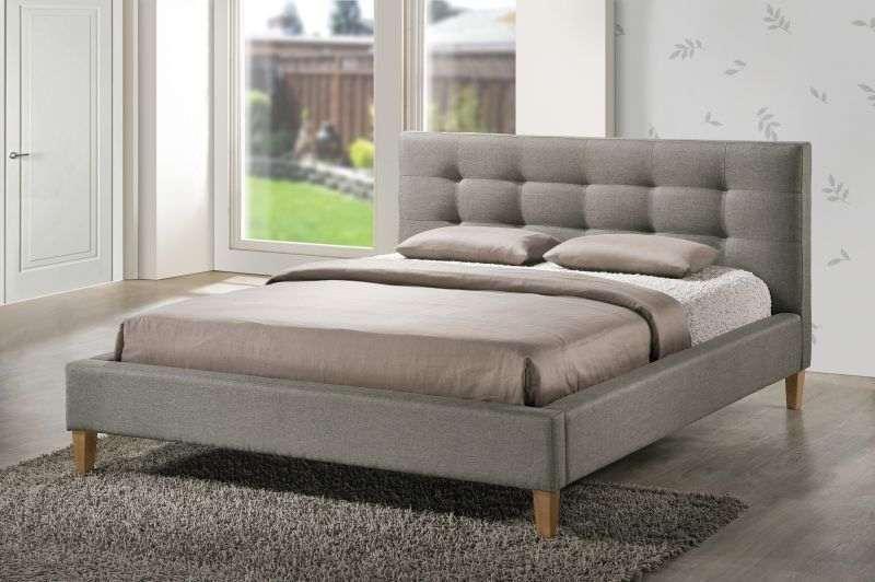 Кровать Texas  (серый) 140х200  (Signal)