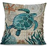 Наволочка декоративная Морская черепаха 45 х 45 см Berni