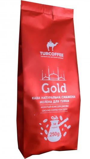 Кофе молотый Turcoffee Gold 250 г (10006861)
