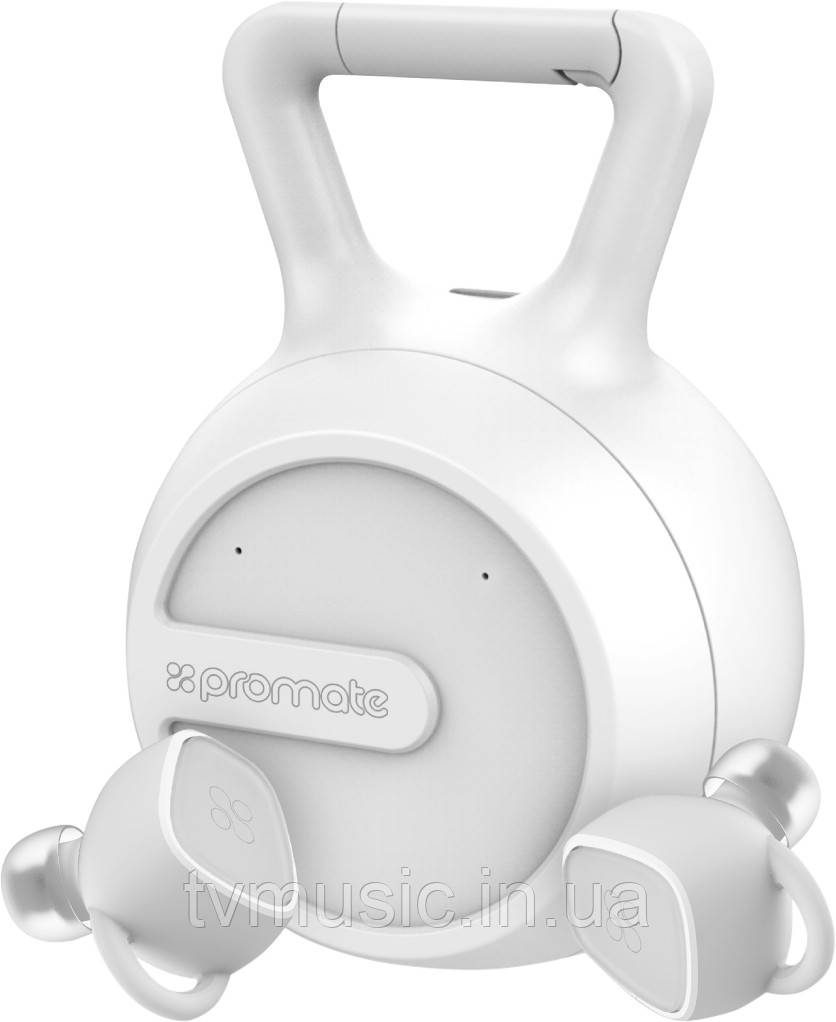 Беспроводные наушники Promate TrueBlue-2 White