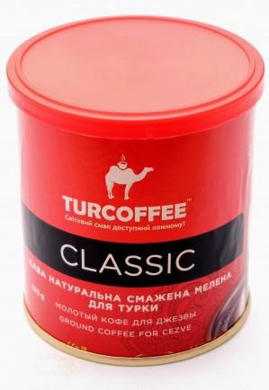 Кофе молотый Turcoffee Classic 100 г (10006870)