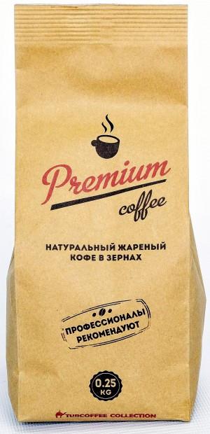 Кофе зерновой Turcoffee Premium 250 г (10006884)