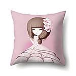 Наволочка декоративная Девочка и лилии 45 х 45 см Berni