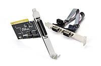 Контроллер PCI Serial 2-port(RS232) + 1-LPT