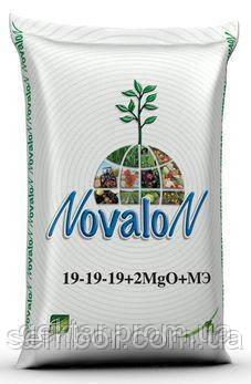 Новалон 19-19-19+2MgO+1,5S+МE 25кг