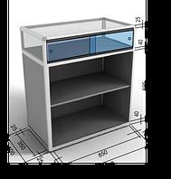 Как рассчитать размер стеклянных раздвижных дверец?