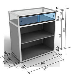 Як розрахувати розмір скляних розсувних дверцят?