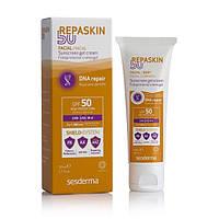 SeSderma REPASKIN Fecial Sunscreen gel crem SPF- 50 / Солнцезащитный крем-гель для лица с СЗФ- 50; 50 мл.