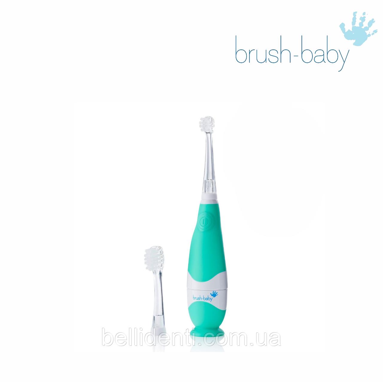 Электрическая зубная щетка Brush-Baby KidzSonic (0-3 лет), звуковая