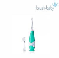 Электрическая зубная щетка Brush-Baby KidzSonic (0-3 лет), звуковая, фото 1