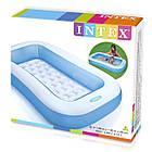 Детский надувной бассейн Intex 57403 прямоугольный, 166 х 100 х 28 см, фото 5
