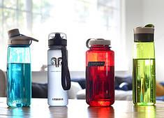 Бутылки спортивные для воды, шейкеры и термосы