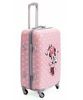Детская дорожный чемодан Mikki Mouse Розовый 65х42х25 см