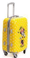 Детская дорожный чемодан Mikki Mouse желтый 65х42х25 см