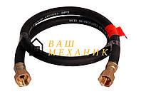 """Шланг газовый Никифоров - 4500 мм x 1/2""""В/В ПВХ черный (мет)"""