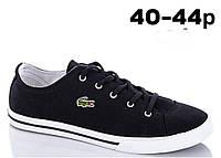 Стильная мужская обувь для подростков реплика производителя Lacoste