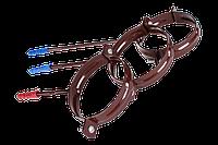 Держатель трубы со шпилькой. Водосточные системы пластиковые