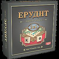 Настольная игра Эрудит 2в1 (Русский + Украинский)