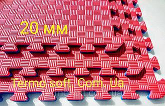 """Підлогове покриття для спортивних залів ТАТАМІ """"Ластівчин хвіст"""" 20 мм. УКРАЇНА. БЕЗ ЗАПАХУ!!!!!!!!!!!"""