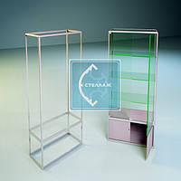 Делаем расчеты стеклянных дверец (распашных), на основе витрины модель №19