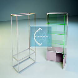 Робимо розрахунки скляних дверцят (орних), на основі вітрини модель №19