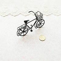 1:12 Миниатюра Велосипед Мини 8*5.5*3 см ЧЕРНЫЙ, фото 1