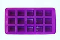 Форма силиконовая для конфет 15 шт. на планшете (код 03918)