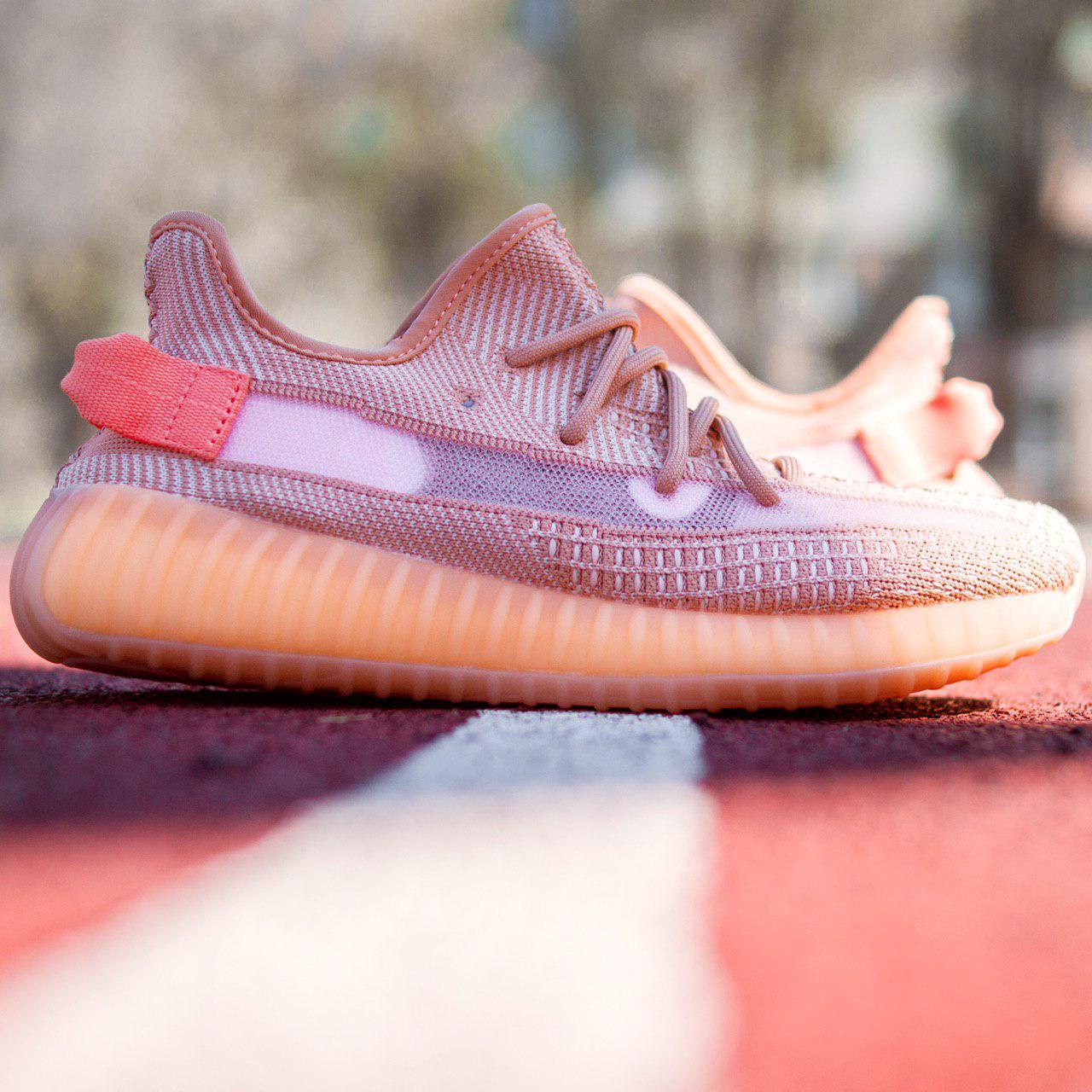 aec1fee9 Мужские кроссовки Adidas Yeezy Boost 350 V2 White (Адидас изи бутс  оранжевые) - OnWhite