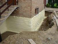 Утепление и гидроизоляция ПЕНОПОЛИУРЕТАНОМ (ППУ) фундаментов, перекрытий, бассейнов, цистерн и емкостей.
