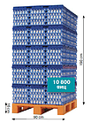 Лотки для куриных яиц пластиковые  Jumbo 65-75 г, фото 8