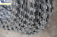 Колючая проволока (Егоза)Спиральный барьер безопасности d-600 (3 скобы), фото 1