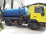Выкча сточных ям,туалетов,автомоек Киев, фото 2