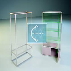 Делаем расчеты стекла, двп, пластик и др материалы для наполнения в торгово-выставочную мебель из алюминиевого профиля