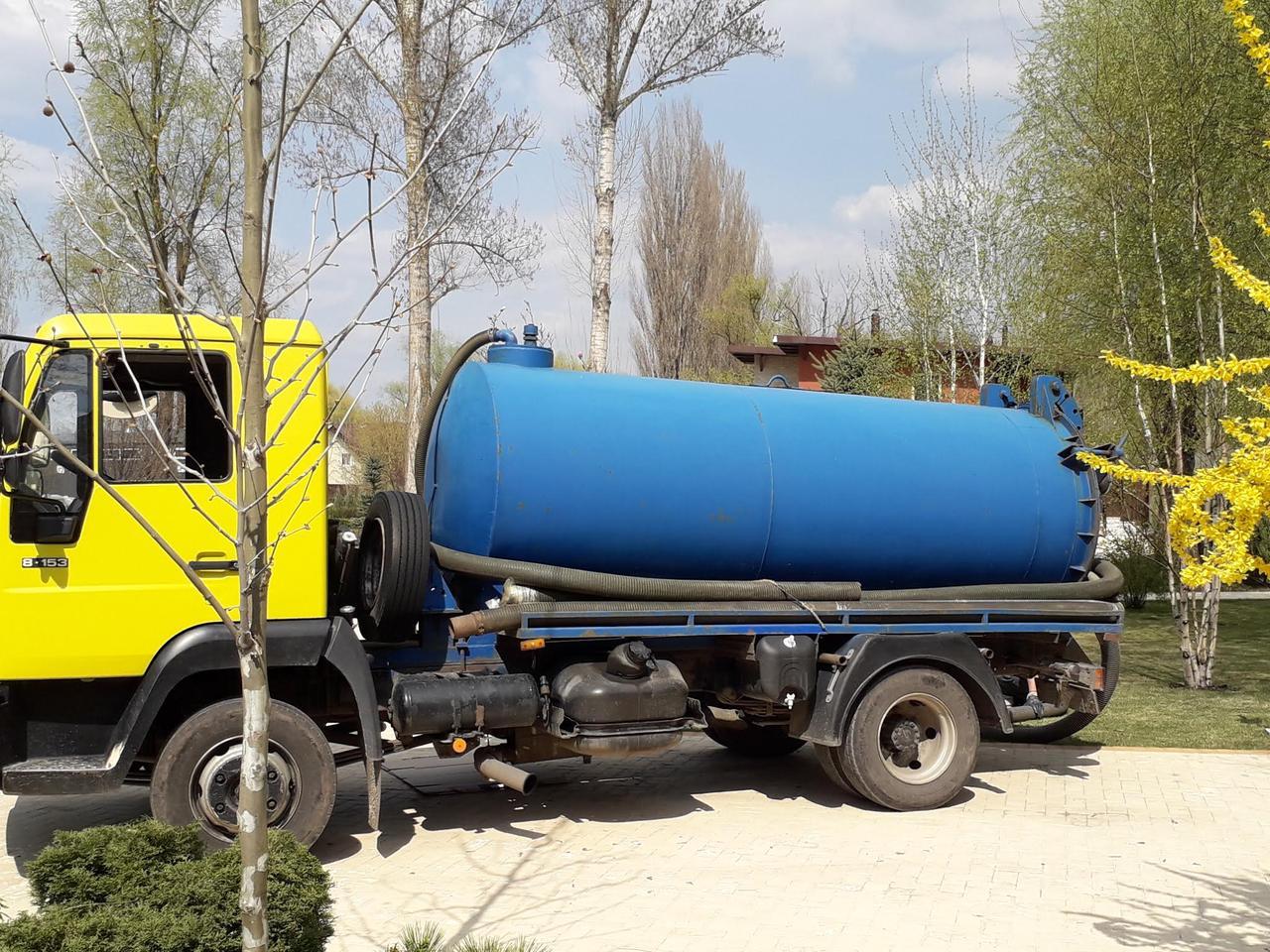 Выкча сточных ям,туалетов,автомоек Киев