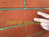 Гибкий кирпич  (клинкер), цвет 15  гладкая фактура кирпич 4 мм на сетке, фото 2