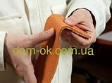 Гибкий кирпич  (клинкер), цвет 15  гладкая фактура кирпич 4 мм на сетке, фото 3