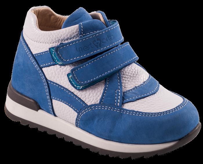 Ортопедические кроссовки 06-555, синий-белый, 23, фото 1