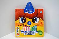Пастель масляная Marco Colorite 24 цвета