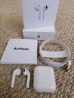 Сенсорные Беспроводные Bluetooth наушники AirPods аирподс. Подарок на день рождение