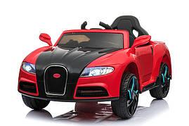 Детский электромобиль Tilly T-7627 Bugatti, красный